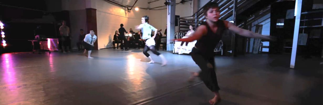 """'Your Body Is Not A Shark"""" by Cid Pearlman modern dance ballet video produced by CLAi, shot by DP Chris Layhe, with AC Sico and Stephanie Layhe on 2nd angles, edited and color grading by Chris Layhe"""
